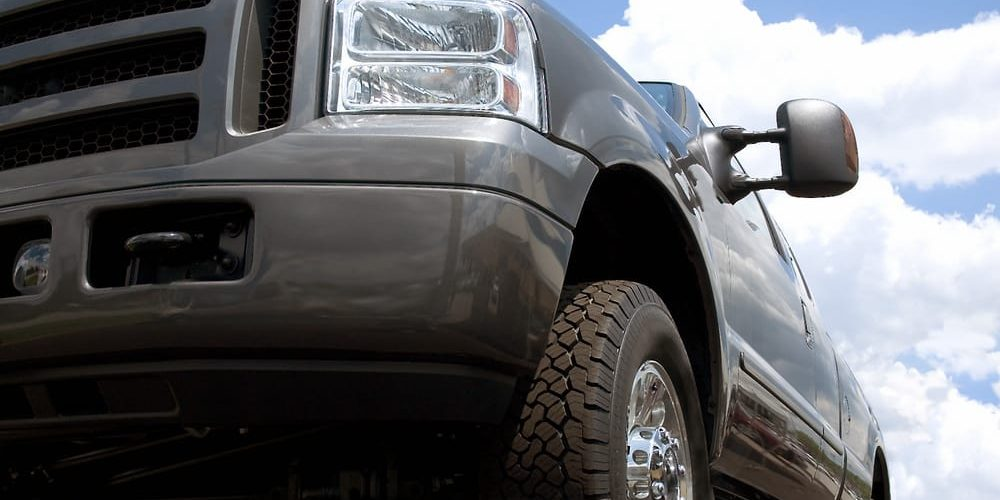 truck with commercial auto insurance